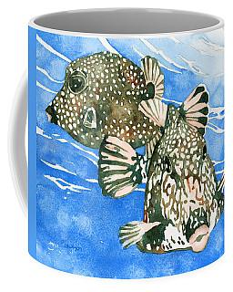 Smooth Trunkfish Pair Coffee Mug