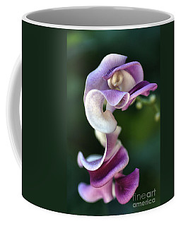 Coffee Mug featuring the photograph Snail Flower by Joy Watson