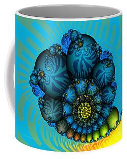 Fractal Landscape Coffee Mugs