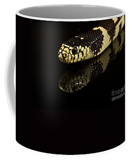Coffee Mug featuring the photograph Snake by Gunnar Orn Arnason