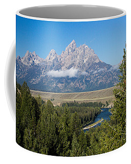 Coffee Mug featuring the photograph Snake River Overlook by Michael Chatt