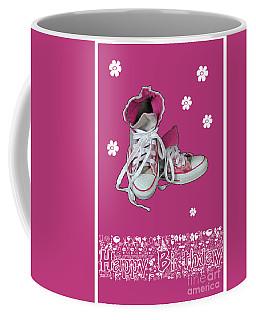 Coffee Mug featuring the photograph Sneakers by Randi Grace Nilsberg