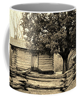 Snodgrass Cabin And Cannon Coffee Mug by Daniel Thompson