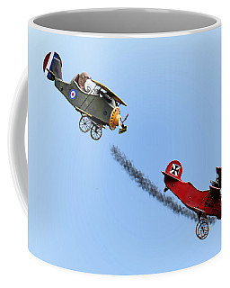Snoopy And The Red Baron Coffee Mug