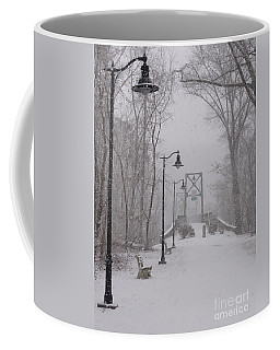Snow At Bulls Island - 05 Coffee Mug