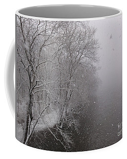 Snow At Bulls Island - 12 Coffee Mug