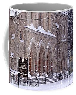 Snow At St. John's Coffee Mug