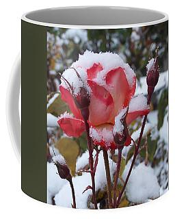 Snow Blooms Coffee Mug