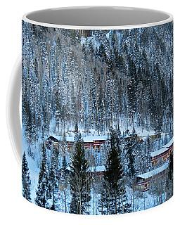 Snow Cabins Coffee Mug