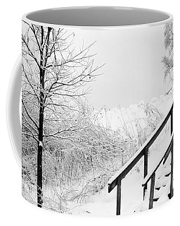 Snow Cover Stairs Coffee Mug