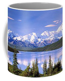 Snow Covered Mountains, Mountain Range Coffee Mug