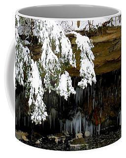 Snow Covered Pine Coffee Mug