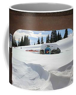 Coffee Mug featuring the photograph Snow Daze by Fiona Kennard