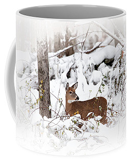 Snow Doe Coffee Mug