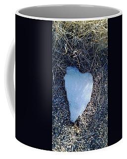 Snow Heart Coffee Mug