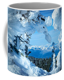 Snow Heart Coffee Mug