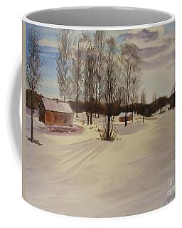 Snow In Solbrinken Coffee Mug by Martin Howard