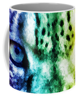 Snow Leopard Eyes 2 Coffee Mug