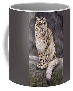 Snow Leopard Sentry Coffee Mug