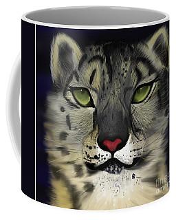Snow Leopard - The Eyes Have It Coffee Mug