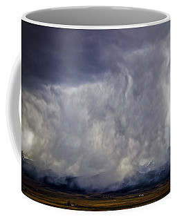 Snow On The Rockies Coffee Mug