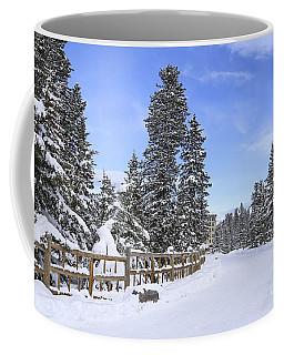 Snow Path Coffee Mug