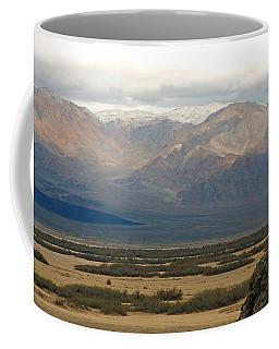 Coffee Mug featuring the photograph Snow Peaks by Stuart Litoff