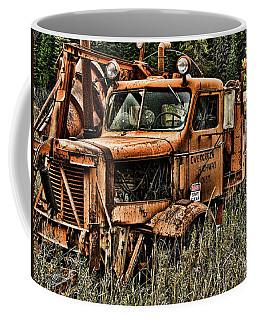 Snow Plow Coffee Mug
