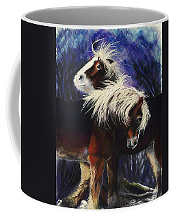 Snow Ponies Coffee Mug