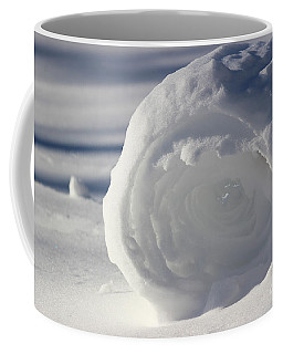 Snow Roller In Late Afternoon Coffee Mug