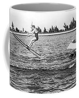 Snow Skis On Water Coffee Mug