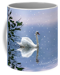 Snow Swan II Coffee Mug