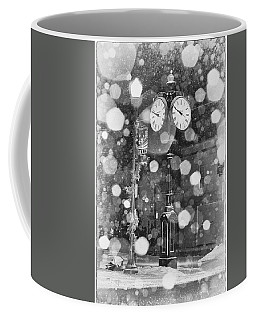 Snow Time Holly Michigan Coffee Mug