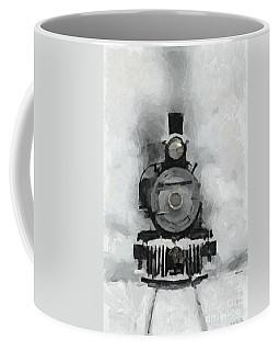 Snow Train Coffee Mug