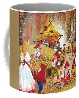 Snow White And The Seven Dwarfs Coffee Mug