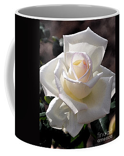 Snow White Rose Coffee Mug