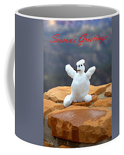 Snowball Snowman Coffee Mug