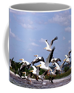 Snowbirds Heading South Coffee Mug