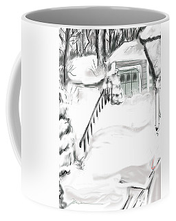 Snowbound Coffee Mug
