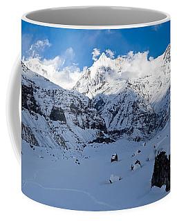 Snowcapped Mountain, Annapurna Base Coffee Mug
