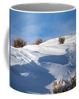 Snowdrifts Coffee Mug by Nadja Rider
