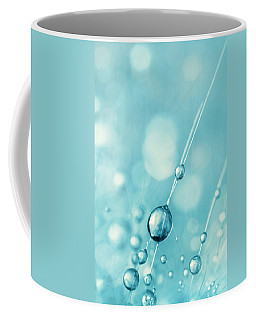 Snowflake Blue Cactus Drops Coffee Mug