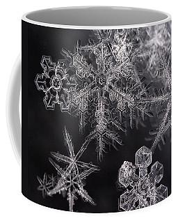 Snowflakes Coffee Mug by Eunice Gibb