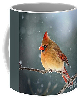 Snowing Again Coffee Mug