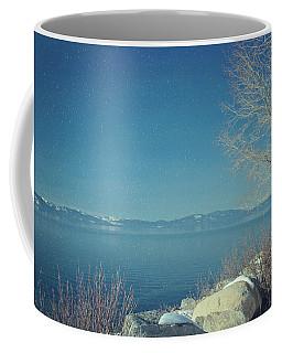 Snowing In Tahoe Coffee Mug