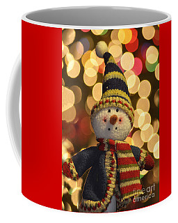 Snowman Coffee Mug by Diane E Berry
