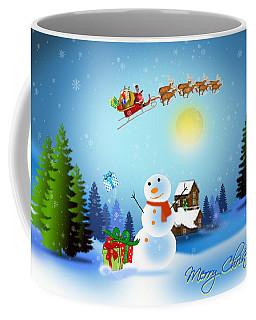 Snowmen Receive Gifts Too  Coffee Mug