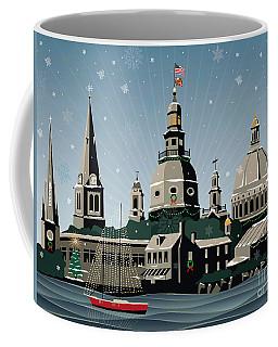 Snowy Annapolis Holiday Coffee Mug