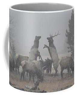 Snowy Battle Coffee Mug