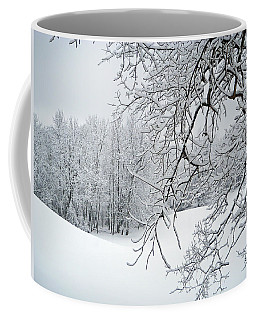 Snowy Branches Coffee Mug